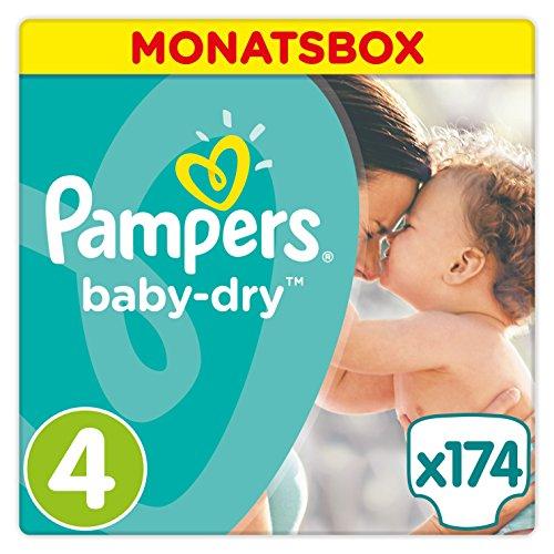 pampers baby dry windeln gr 4 8 16 kg monatsbox 1 er. Black Bedroom Furniture Sets. Home Design Ideas