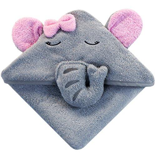 Little tinkers world baby badetuch kapuzenhandtuch im elefanten design 100 flauschige - Pool fur kleinkinder ...