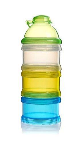 Neue Ankunft Tragbare Baby Milch Pulver Formel Dispenser 3 Fach Lebensmittel Behälter Lagerung Fütterung Box Kleinkind Infant üBerlegene Materialien Flaschenzuführung